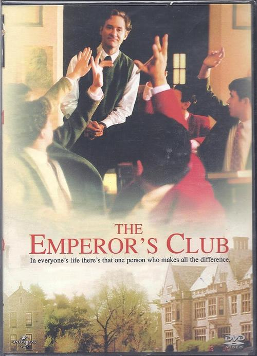 emperors club The emperor's club iq  do you think professor william hundred did the right thing what are the ethical and moral dilemmas would he have experienced.