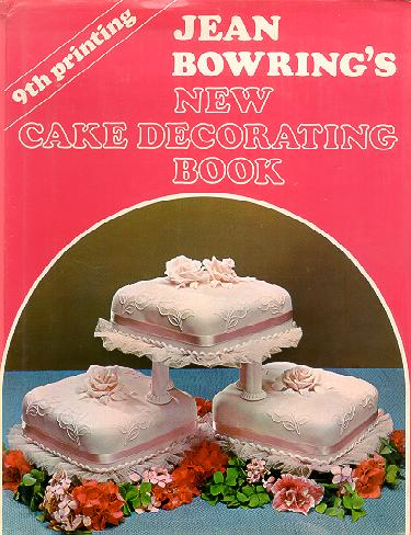 Cooking, Food & Wine - NEW CAKE DECORATING BOOK- JEAN ...