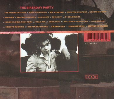 (Nick Cave) The Birthday Party - HITS UK Import CD