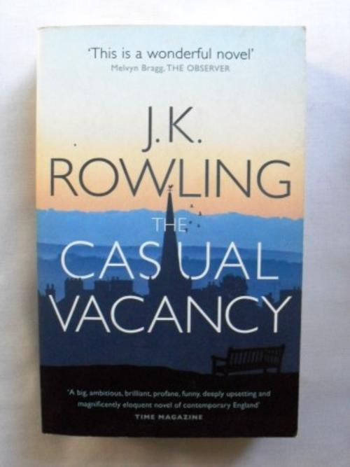general fiction the casual vacancy jk rowling was