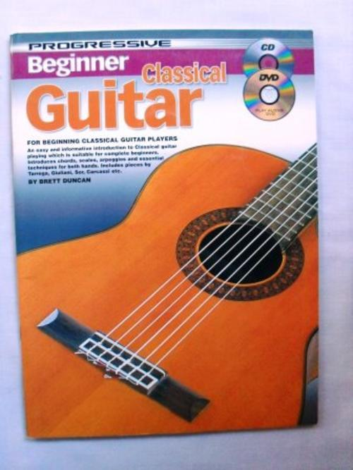 sheet music song books beginner classical guitar brett duncan book with cd and dvd was. Black Bedroom Furniture Sets. Home Design Ideas