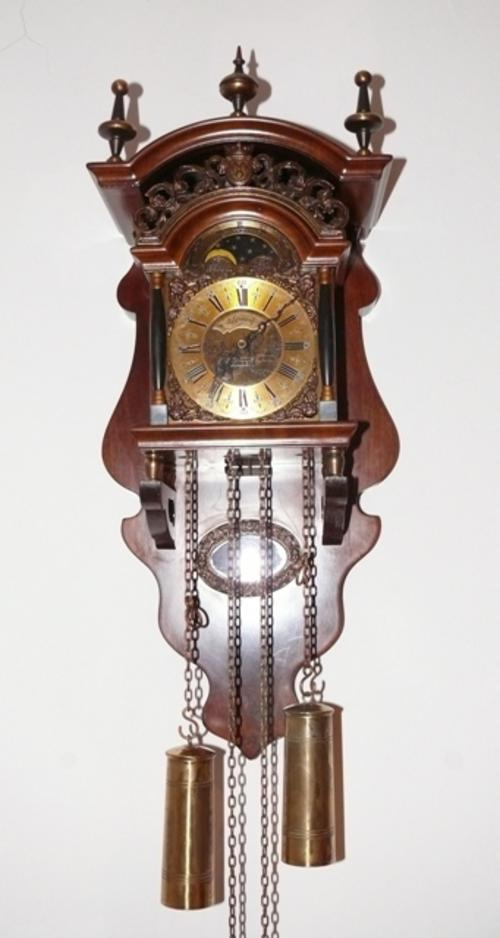 Cuckoo wall clocks warmink dutch pendulum wall clock beautiful nut wood sallander 8 day - Cuckoo pendulum wall clock ...