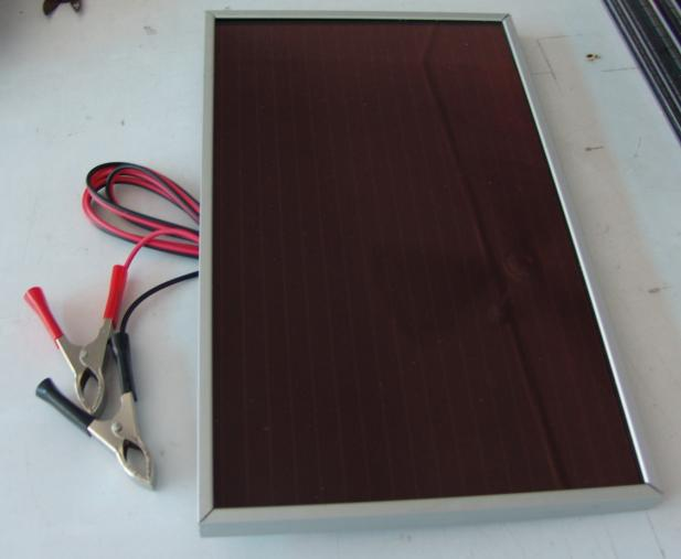 amorphous silicon panels. 5 Watt 12Volt Solar Panels