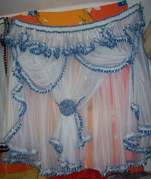 Frilled Kitchen Curtains Lined Was Listed For R230.00 On 10 Aug At 23