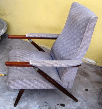 Chairs stools footstools retro mid century 1950s for Boys lounge chair