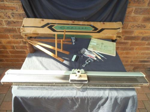 Other Antiques & Collectables - VINTAGE EMPISAL KNITTING MACHINE was sold...