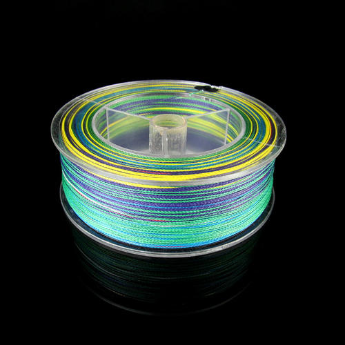 Line braid traces 500m 100lb super dyneema strong for Colored fishing line
