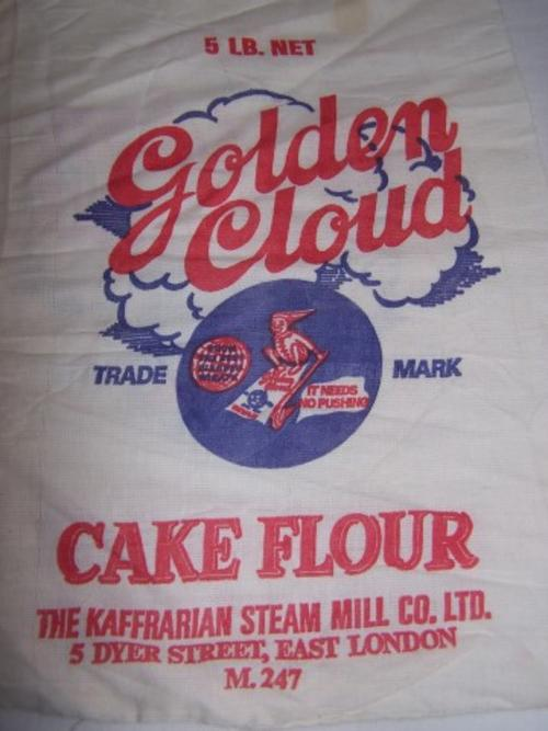 Advertising - flour bag ... cake flour !!! was sold for ...