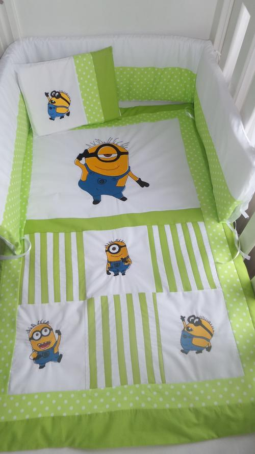 duvets duvet covers emroidered minion 7 piece baby