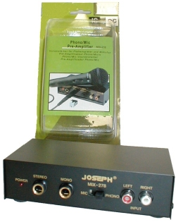Pre-Amplifier for Phono & Mic