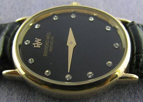 how to put raymond veil ladies watch cover back