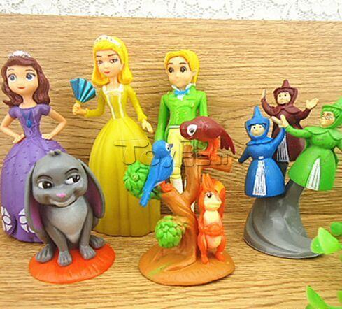 Cake Decorating Plastic Figurines : Other Toys - Sofia the First, plastic figurine set ...