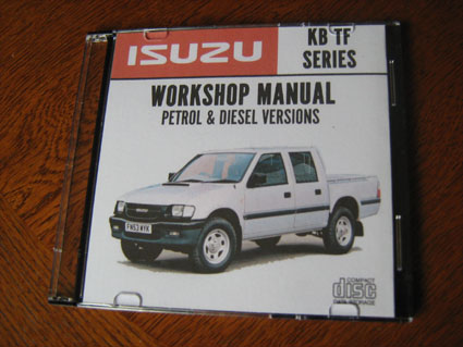 workshop manuals isuzu kb tf car workshop repair service. Black Bedroom Furniture Sets. Home Design Ideas