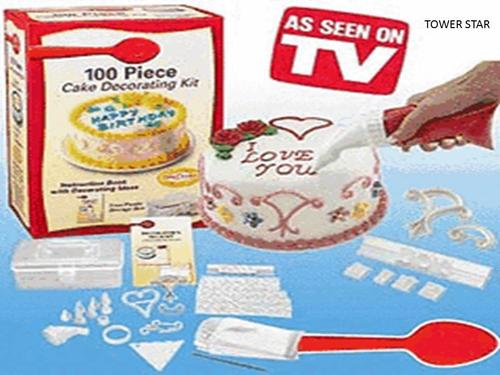 Other Bakeware - COMPLETE KIT OF 100 CAKE DECORATIONS was ...