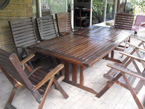 Tables patio tafel en stoele was sold for r3 on 26 jul at 17 39 by carfanny in - Tafel tv vintage ...