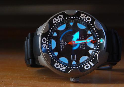 Sports outdoors watches citizen promaster eco drive titanium professional diver 200m watch - Citizen titanium dive watch ...