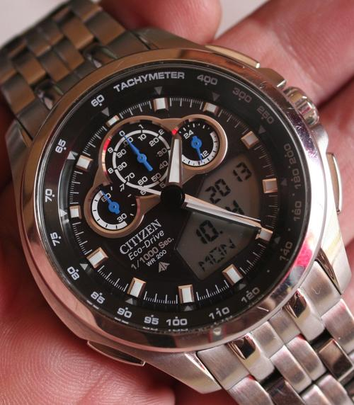 citizen eco drive promaster sst manual