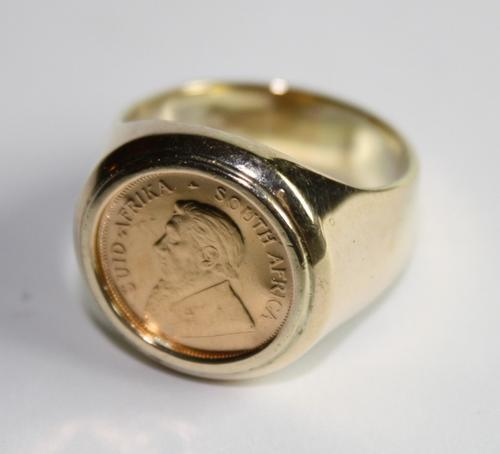 Kruger Coin Rings For Sale
