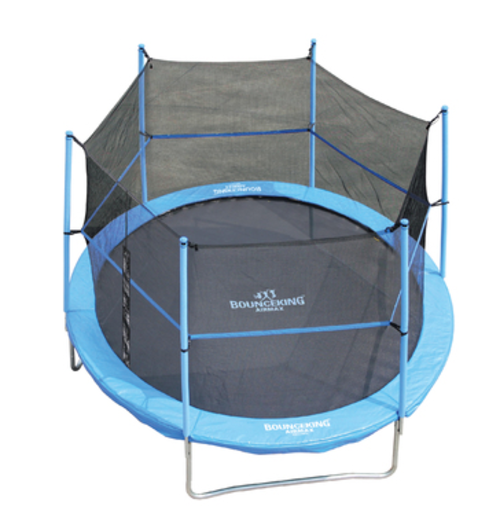 Trampolines Bounceking 10 Foot Air Max Trampoline Combo