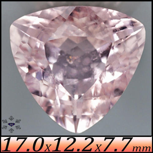 KUNZITE, TOURMALINE AND MORGANITE PINK BERYL