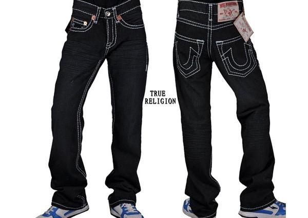 Jeans - MENS ORIGINAL TRUE RELIGION JEANS BLACK 38 ##BRAND ...