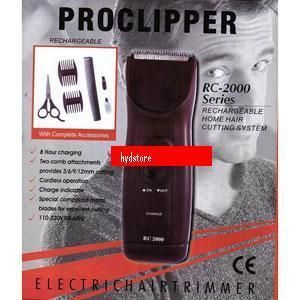 other health beauty rechargable proclipper rc 2000 series brand new. Black Bedroom Furniture Sets. Home Design Ideas