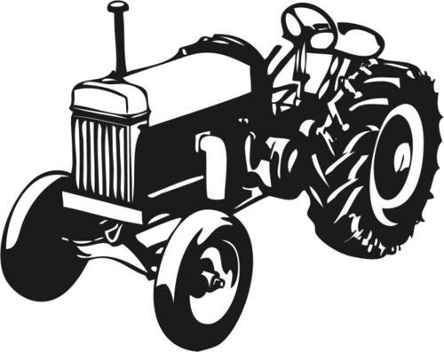 Wall Decals Vinyl Decal Tractor Can Be Personalised