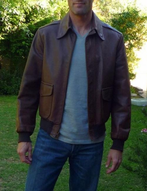 a3f4226fb Willis & geiger Leather WW2 A-2 Flying jacket | The Fedora Lounge