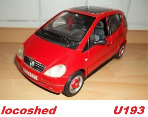 Models mercedes benz a class sunroof 1997 red maisto top for Mercedes benz a class pre owned