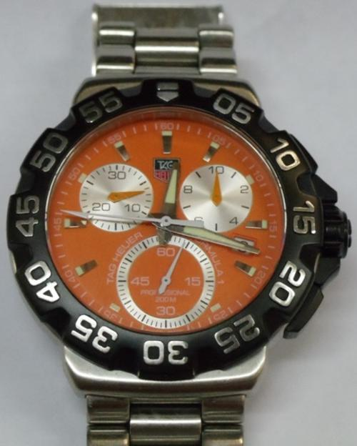 Men's Watches - TAG HEUER FORMULA 1 - GENTS - S/STEEL BELT ...