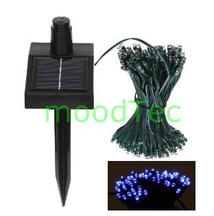 String Lights Za : Other Outdoor Lighting - Blue 120 LED Solar String Fairy Lights - Blue 13 Meters was sold for ...