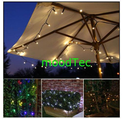 Outdoor String Lights South Africa: Colorful 100 LED Solar Powered Fairy String