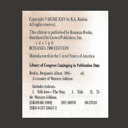 The Information Page.