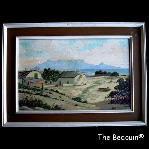Image of framed oil painting