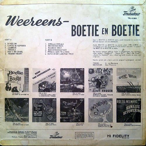 Boetie Otto Boetie Fritz Weereens Boetie En Boetie