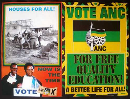 Africana - TWO A N C ELECTION POSTERS (Free Housing and Free ...