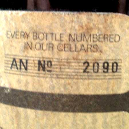 bottle number