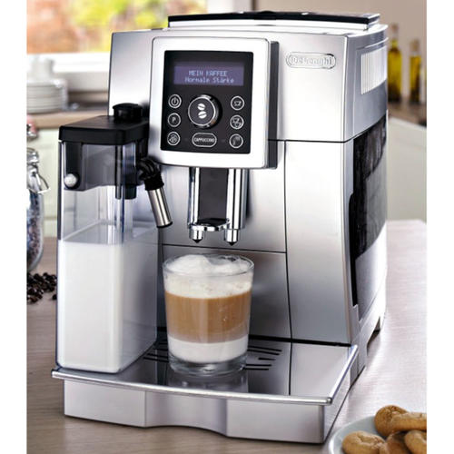 Delonghi Coffee Maker In Ksa : Tea & Coffee Makers - **LAST BARGAIN**DeLonghi Silver Fully Automatic Espresso / Cappuccino ...