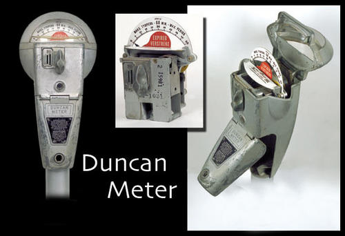 how to open a duncan parking meter
