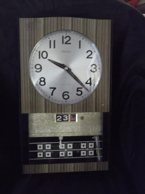 Rare Amp Collectible Watches Seiko Transistor Wall Clock