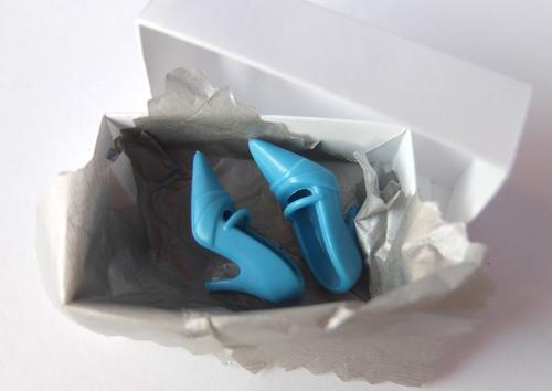barbie shoes blue classic heels