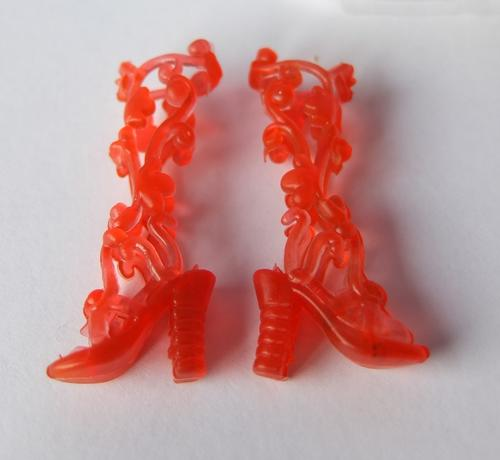 red gladiator sandals barbie doll toy