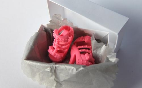 pink barbie heels sandals strappy doll toy