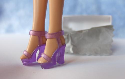 barbie purple shoes sandals