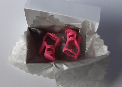 pink barbie shoes