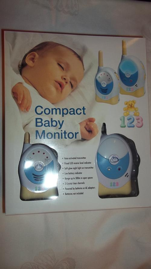 monitors 123 compact baby monitor was sold for on 20 oct at 17 07 by jpauls in. Black Bedroom Furniture Sets. Home Design Ideas