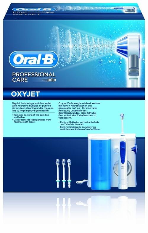 electric toothbrush oral b professional care oxyjet md. Black Bedroom Furniture Sets. Home Design Ideas