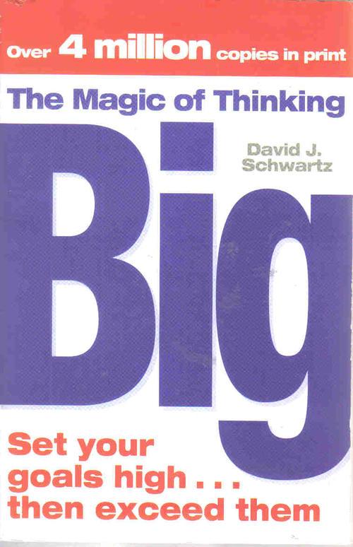 Self Help Amp Psychology The Magic Of Thinking Big border=