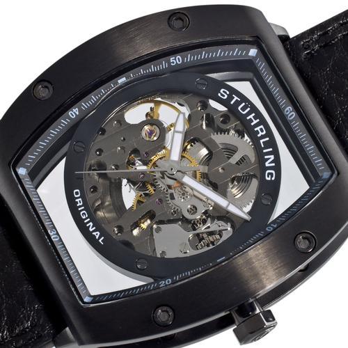 men s watches stuhrling zeppelin z2 automatic skeleton mens stuhrling zeppelin z2 automatic skeleton mens watch