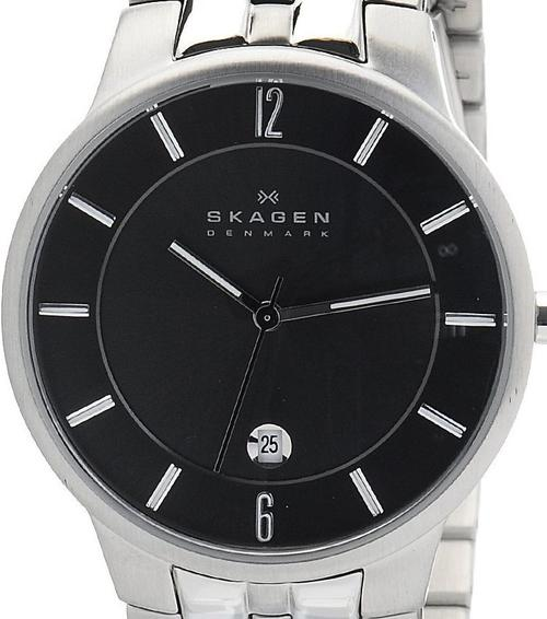 how to close the back of a skagen watch